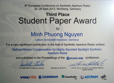 AwardeeDipl.-Ing. Minh Phuong Nguyen