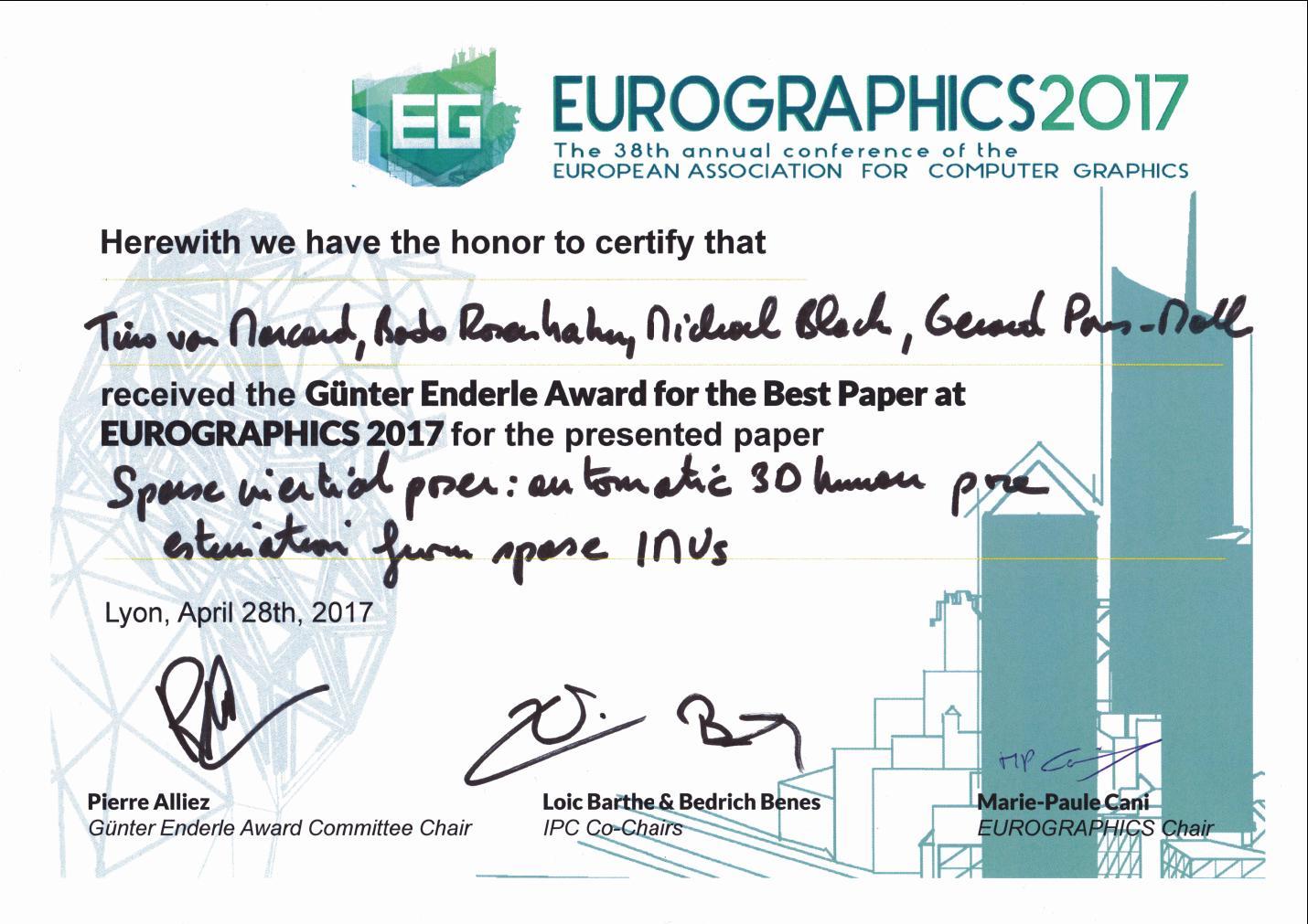 EurographicsBestPaperAward2017